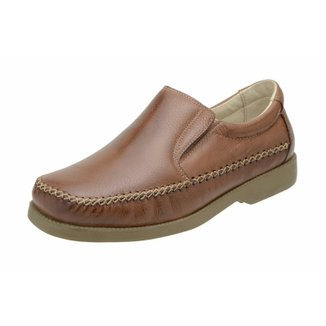 Mocassim Clacle Conforto Whisky