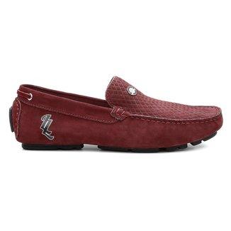 Mocassim Clique Shoes Dockside Em Couro Masculino