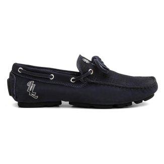 Mocassim Clique Shoes Drive Casual Em Couro Confortavel Masculino