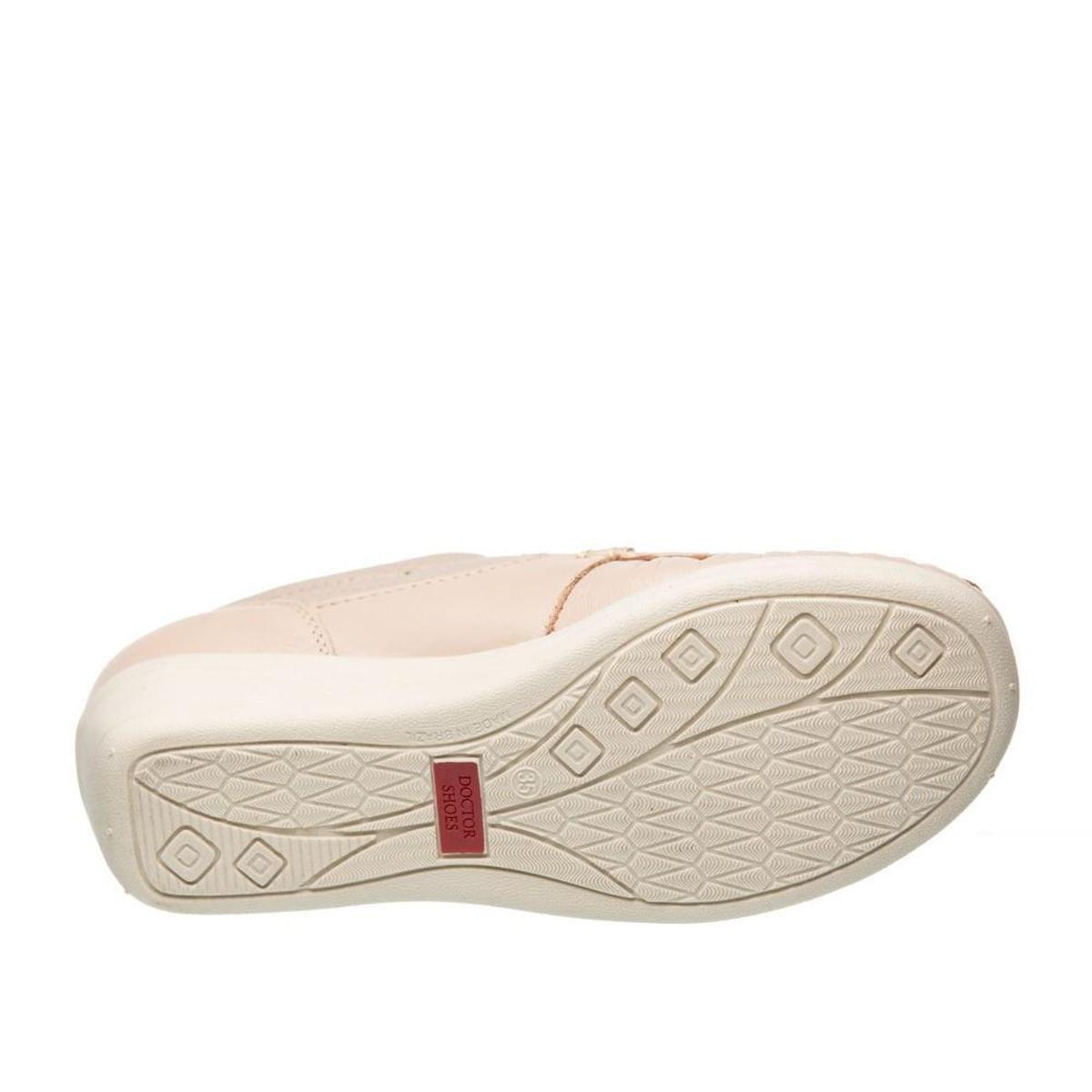 Doctor Rosa Mocassim Feminino Ostra Couro Mocassim Claro Shoes 184 Couro x8pwXvq