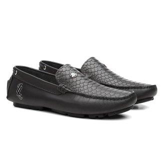 Mocassim Couro Clique Shoes Masculino