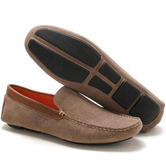 Mocassim  Couro Navit Shoes Fóssil Masculino