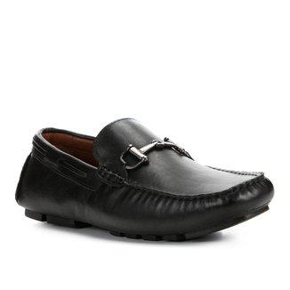 Mocassim Couro Shoestock Bridrão Masculino