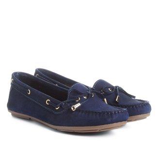 Mocassim Couro Shoestock Tradicional Feminino