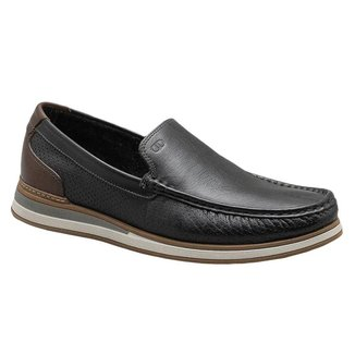 Mocassim Democrata Denim Flow Masculino - Conhaque