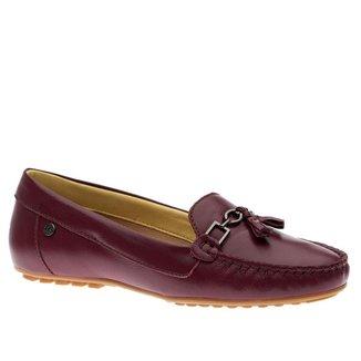 Mocassim Doctor Shoes Couro Amora Feminino