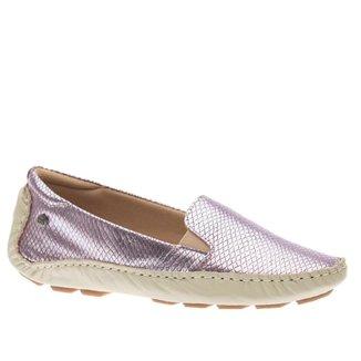 Mocassim Doctor Shoes Couro Feminino