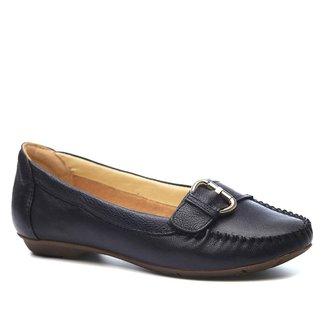 Mocassim em Couro Doctor Shoes Feminino