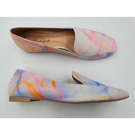 Mocassim Le scarpe di Bruna - Tie Dye - Lilás+Rosa