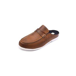 Mocassim Mule Masculino Tamanho Grande Shoes Grand Em Couro
