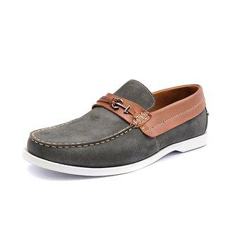 Mocassim Shoes Grand Pier Em Courotamanho Grande
