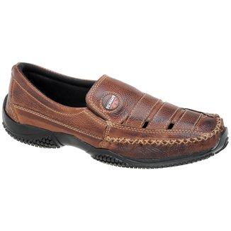 Mocassim Tchwm Shoes detalhe em Furos