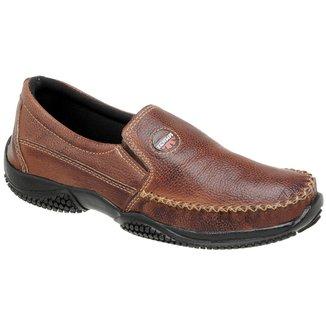 Mocassim Tchwm Shoes Solado em Borracha