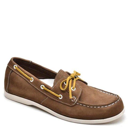 Mocassim Top Franca Shoes Casual Masculino - Caramelo