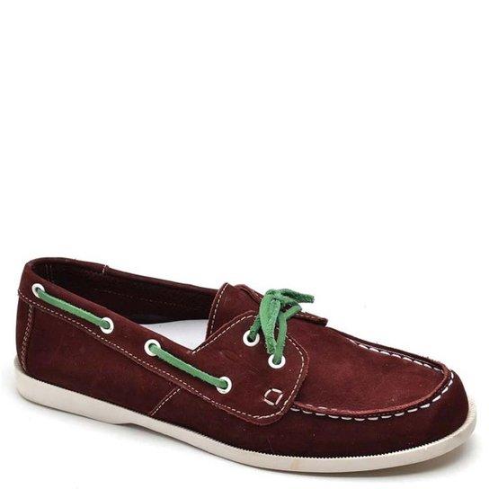 Mocassim Top Franca Shoes Casual Masculino - Bordô