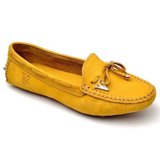 Mocassim Yes Basic Feminino - Amarelo