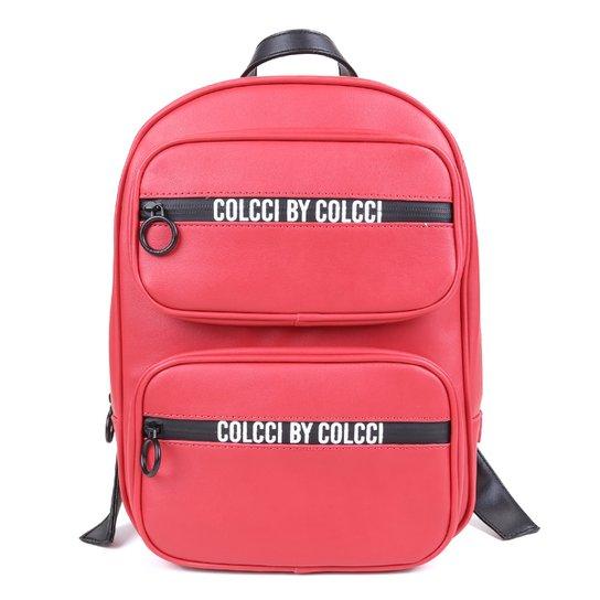 Mochila Colcci Ziper Personalizado Feminina - Vermelho