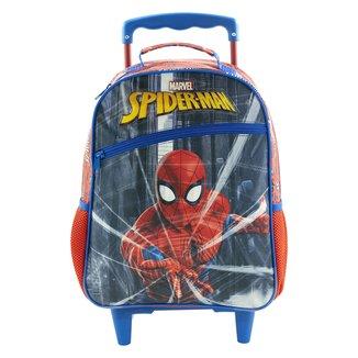 Mochila com Rodinhas Infantil Xeryus Spider Man Protector Masculina