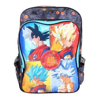 Mochila Escolar Clio Style Dragon Ball Super Masculina