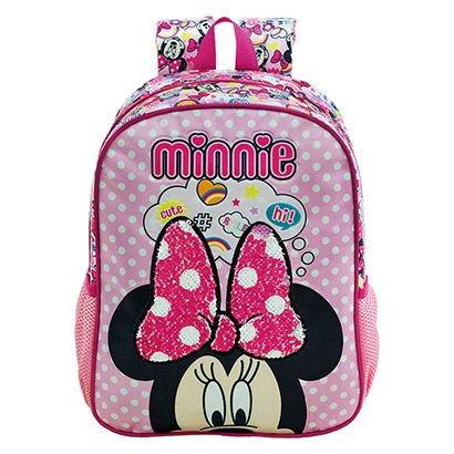 Mochila Escolar Infantil Disney Xeryus Minnie Magic Bow