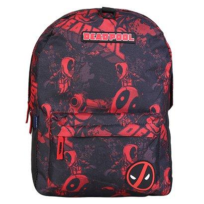 Mochila Escolar Infantil DMW Sound Deadpool
