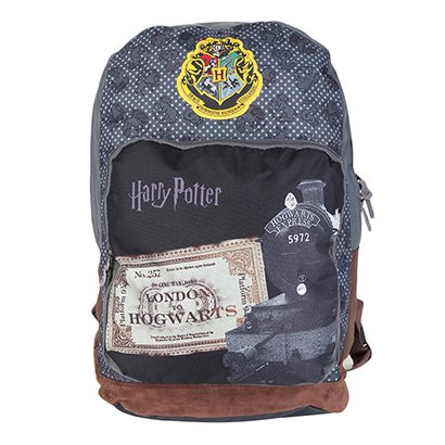 Mochila Escolar Infantil Luxcel Disney Harry Potter