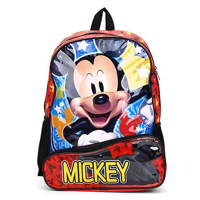 Mochila Escolar Infantil Pacific 16 Mickey Disney Hey Mickey Disney