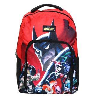 Mochila Escolar Infantil Pacific Batman E Arlequina