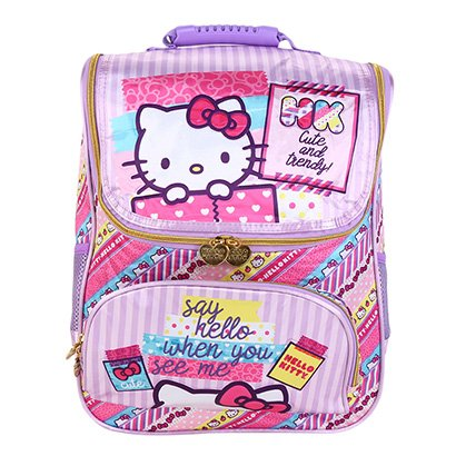 Mochila Escolar Xeryus Hello Kitty Feminina