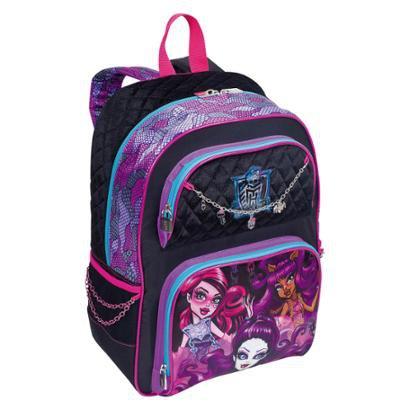 Mochila Grande Monster High Filme 16Y01 Infantil Sestini