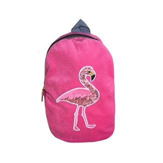 Mochila Infantil Ania Store Flamingo Feminino