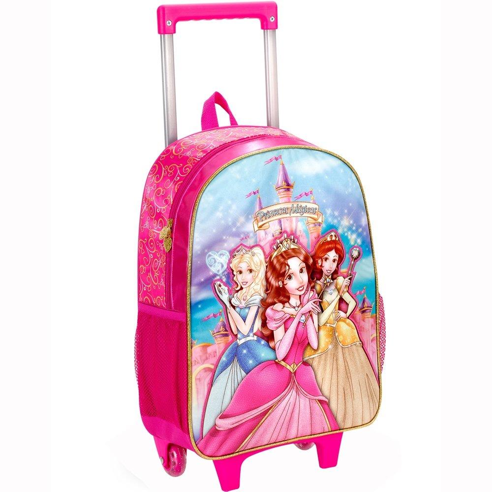 Mochila Infantil - Clio Com Alças Princesas Mágicas Feminina - Compre Agora    Zattini e822f61838