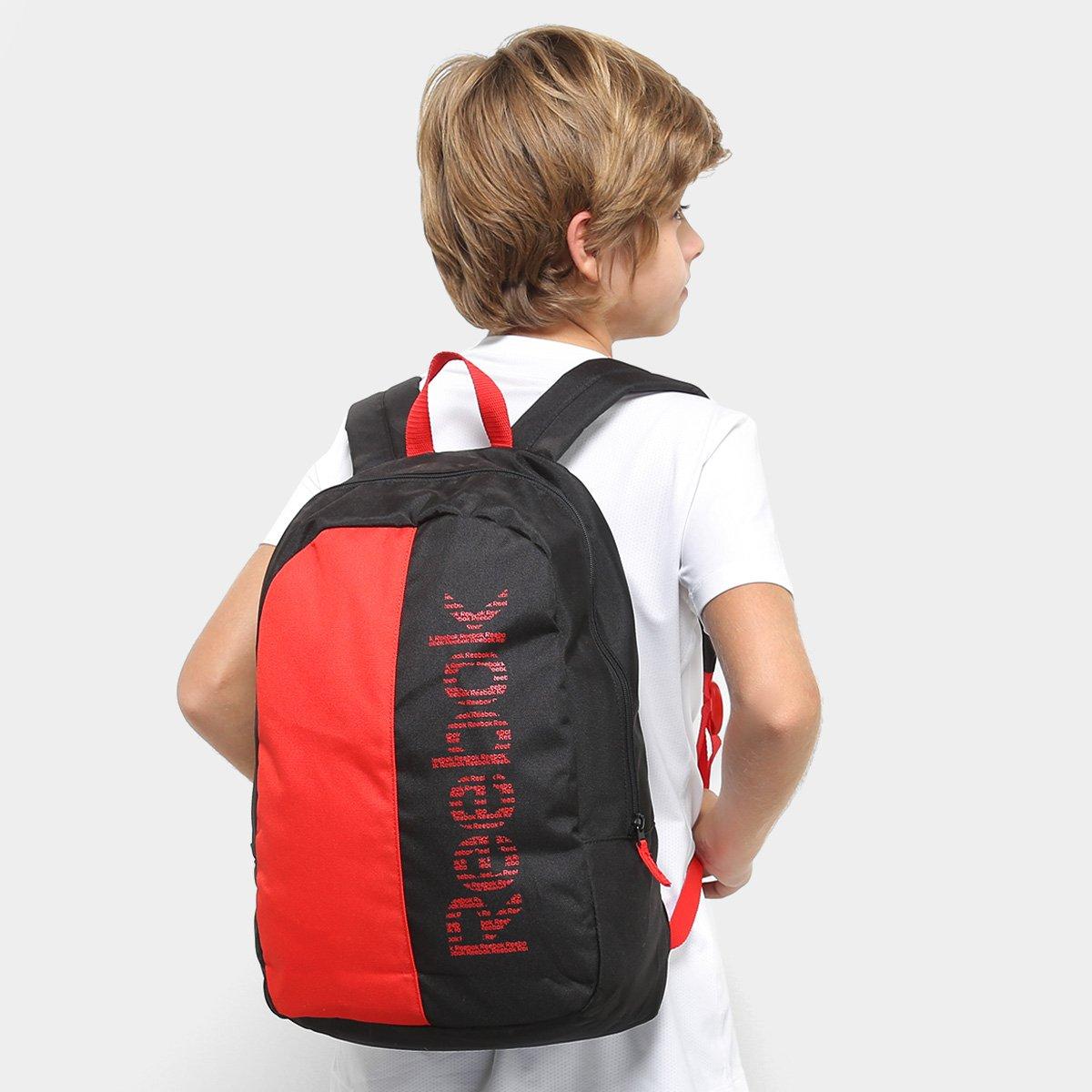 mochila infantil reebok u essentials