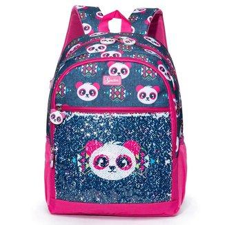 Mochila Infantil Spector Panda 19L Feminina