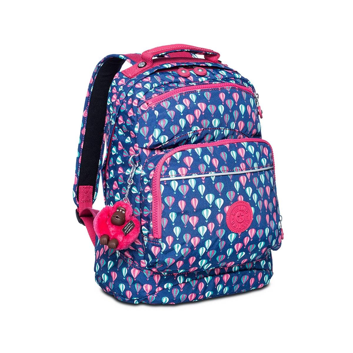 c65a75ea1 Mochila Kipling Ichiwa - Azul e Pink | Zattini