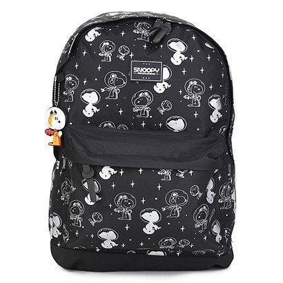 Mochila Luxcel Snoopy com Porta Notebook