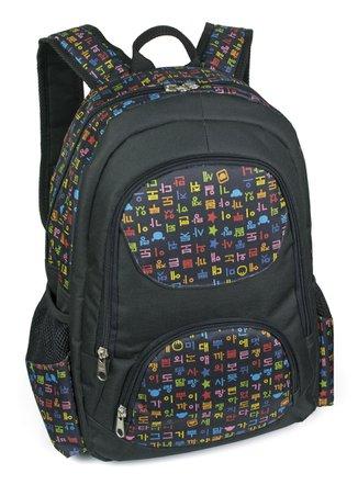 Mochila para Notebook LS MN3131 com compartimento estofado para notebook, 4 bolsos