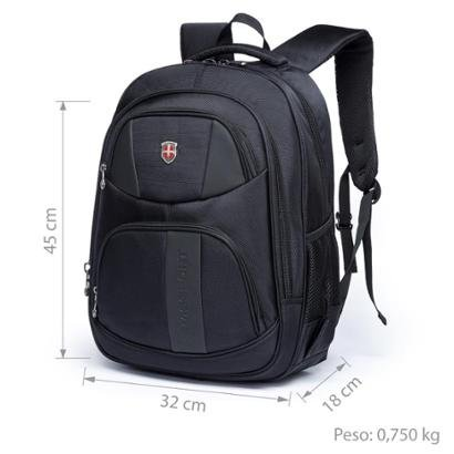 Mochila swissport manager executiva notebook 25l