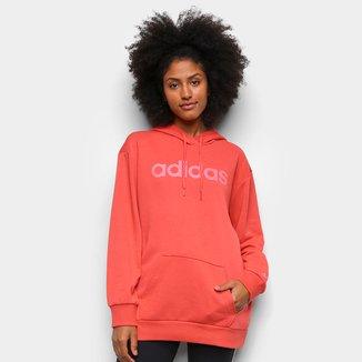 Moletom Adidas Essentials Linear Feminino