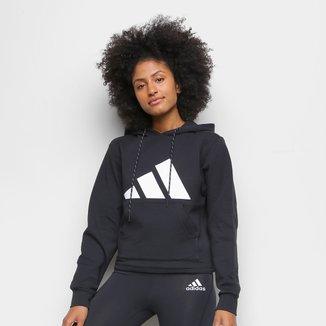 Moletom Adidas Logo C/ Capuz Feminino