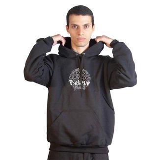 Moletom Basic Sandro Clothing Believe Masculino