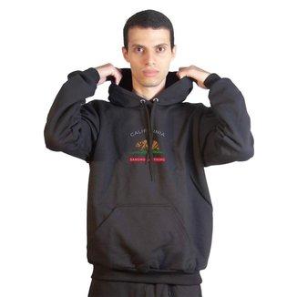 Moletom Basic Sandro Clothing California Masculino