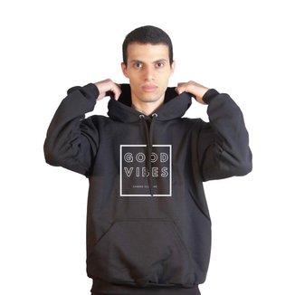 Moletom Basic Sandro Clothing Good Vibe Masculino