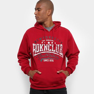 Moletom Broken Rules Original NYC Capuz Masculino
