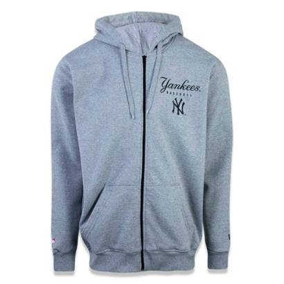Moletom Canguru Aberto New York Yankees MLB New Era Masculino