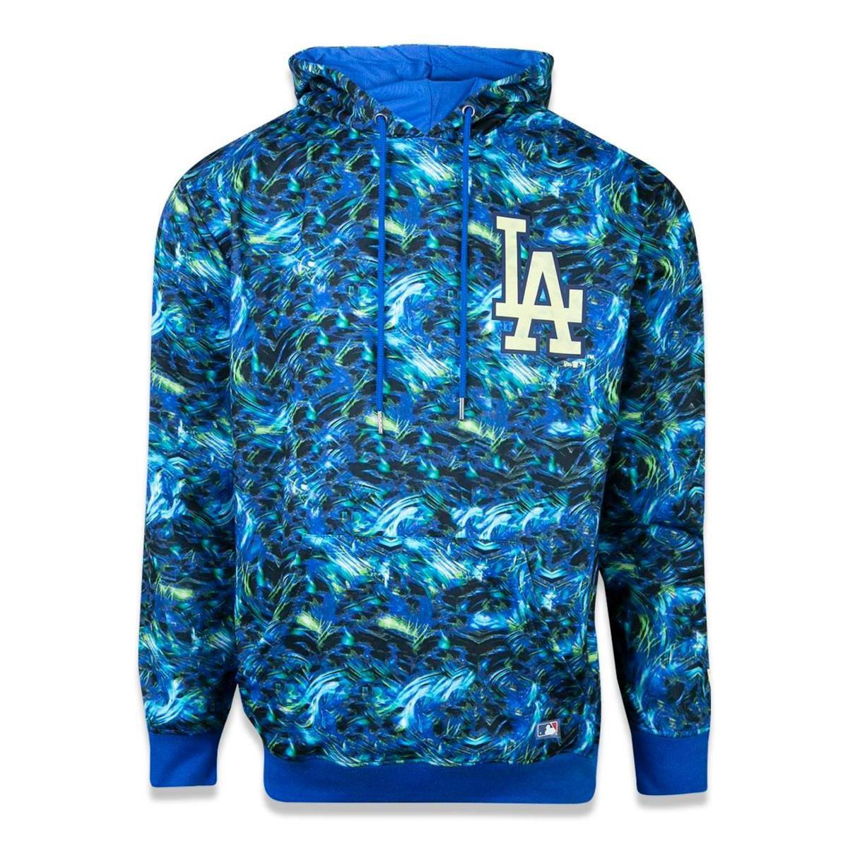 Moletom Canguru Fechado Los Angeles Dodgers MLB New Era - Azul Royal -  Compre Agora  838826c75d6