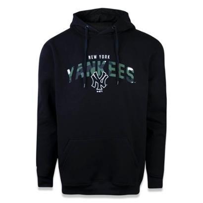 Moletom Canguru Fechado New York Yankees MLB New Era Masculino