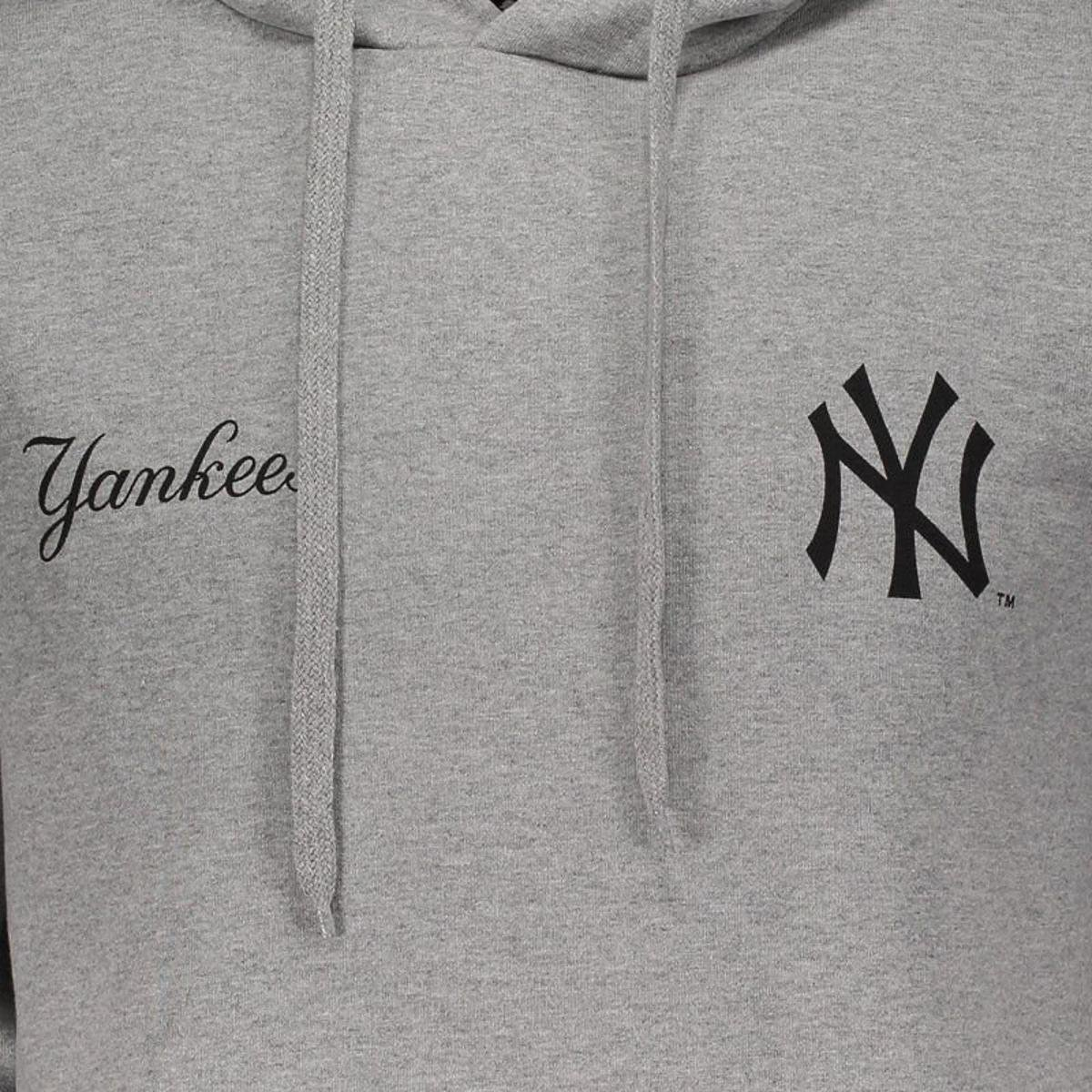 Moletom Canguru Fechado New York Yankees MLB New Era Masculino ... 83f837d42ad