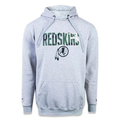 Moletom Canguru Fechado Washington Redskins NFL Masculina