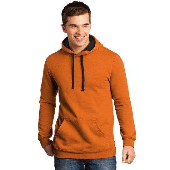 Moletom Canguru Masculino Premium Blusa de Frio Estilosa - Marrom